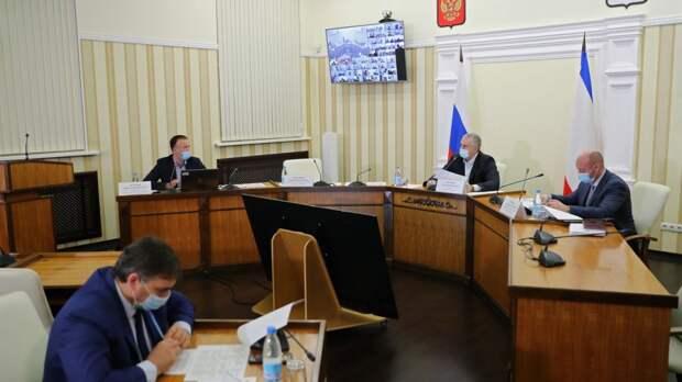 Дорогу в Оленевке Черноморского района должны отремонтировать до 1 июня