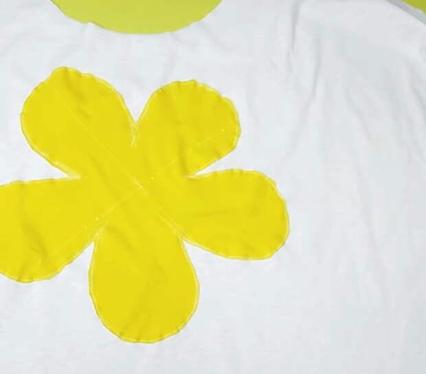 Старая футболка пригодится для новой вещи: отличный акцент, эксклюзивный результат