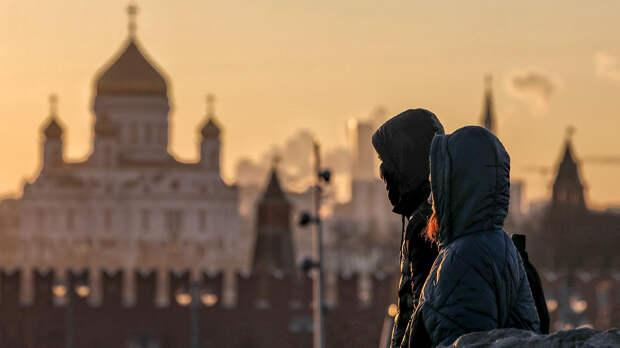 Облачная погода без осадков ожидается в Москве 28 сентября