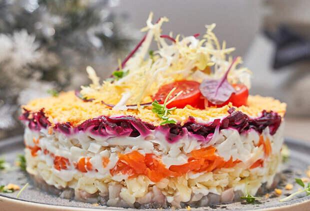 Селедка под шубой: потрясающий рецепт