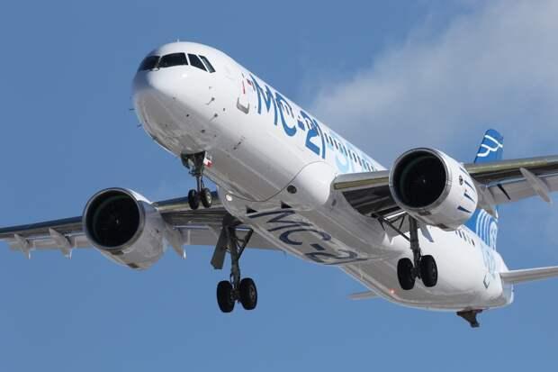 Испытатели EASA завершили третью сессию сертификационных полетов на самолете МС-21-300