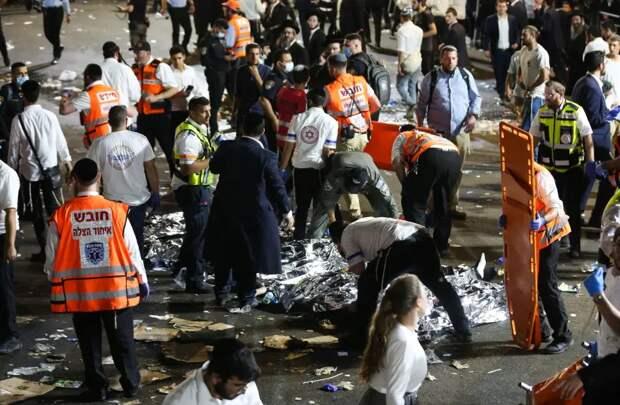 Число жертв давки в Израиле увеличилось до 44 человек