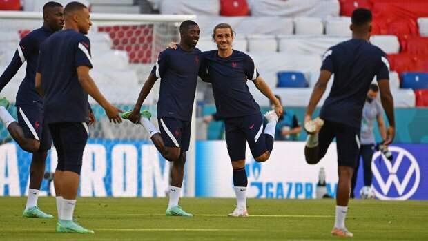 Франция и Германия начали свой матч на чемпионате Европы
