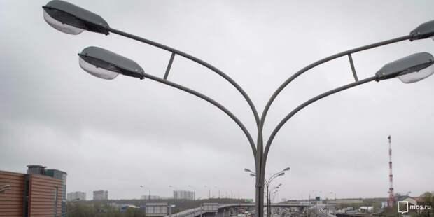 На улице Соловьиная Роща восстановили освещение