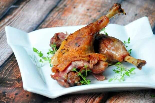 Конфи из курицы