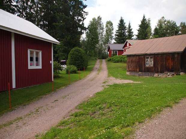 Идиллия маленькой деревни