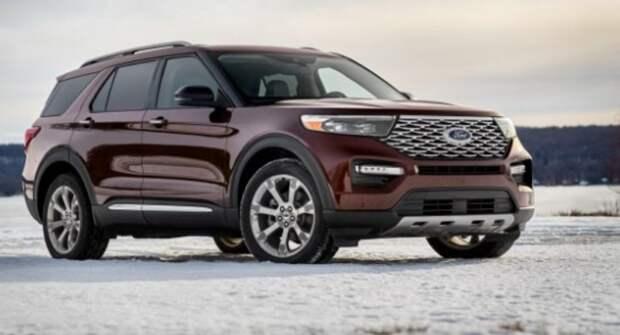 Ford отзывает почти 617 тысяч внедорожников Explorer в США