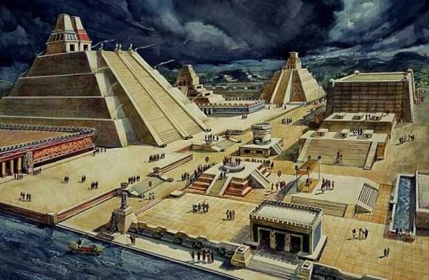 Древняя цивилизация ацтеков