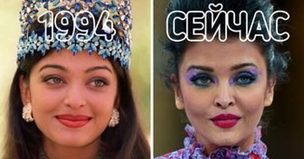 Как выглядят сегодня 11 королев красоты, которые украли миллионы сердец