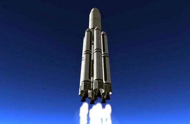 Метановый «Енисей»: как будет выглядеть новая сверхтяжелая ракета