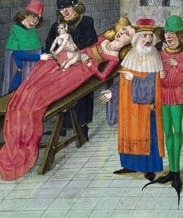 10 поразительных фактов о том, как рожали королевы в Средневековье.