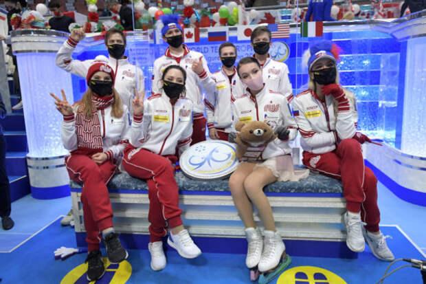 Сборная России впервые в истории выиграла командный...