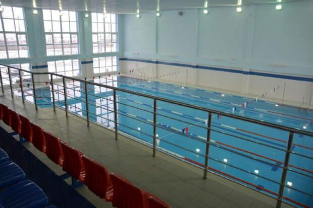 В Крымском районе Кубани построили спорткомплекса с бассейном