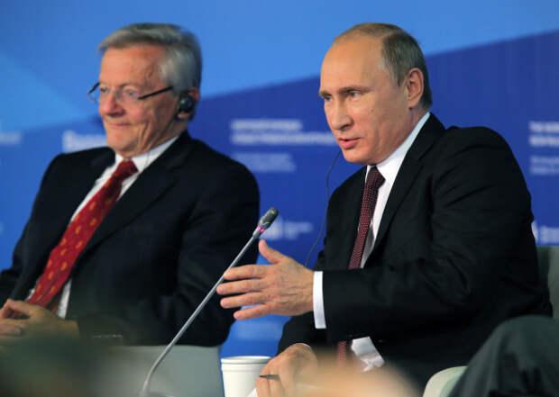 Путин поздравил сюбилеем бывшего канцлера Австрии Вольфганга Шюсселя