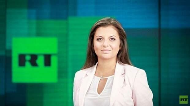 Симоньян об удалении YouTube канала RT DE: это медийная война, объявленная Германией России