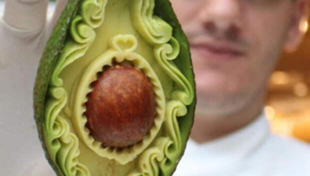 Изысканные авокадо Даниэля Баррези
