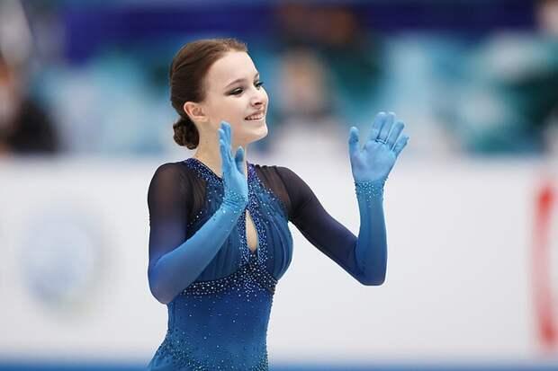 Щербакова о победе на командном ЧМ: «Просто каталась и старалась получить удовольствие»