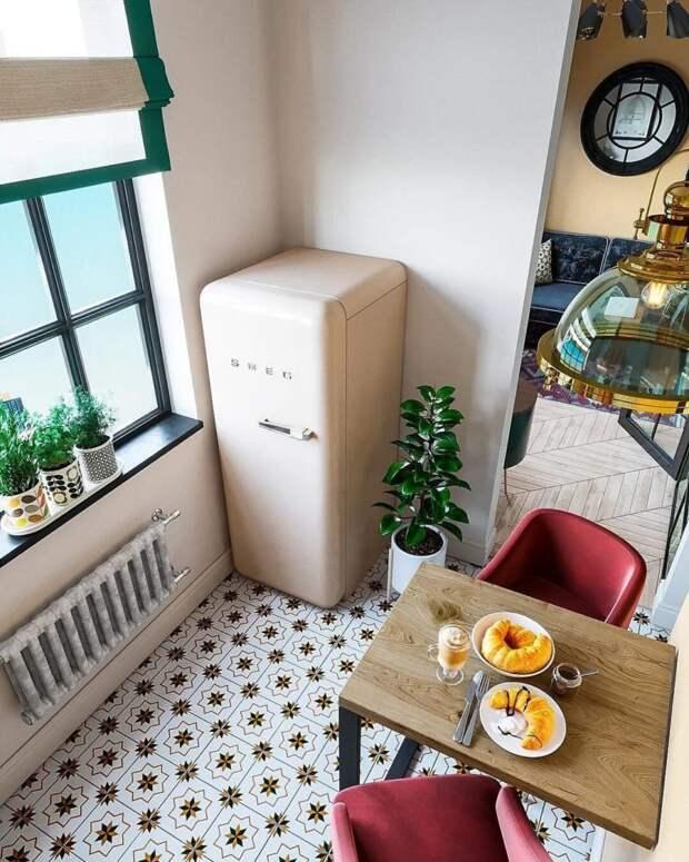 12 классных кухонь всего в 5 кв. м.