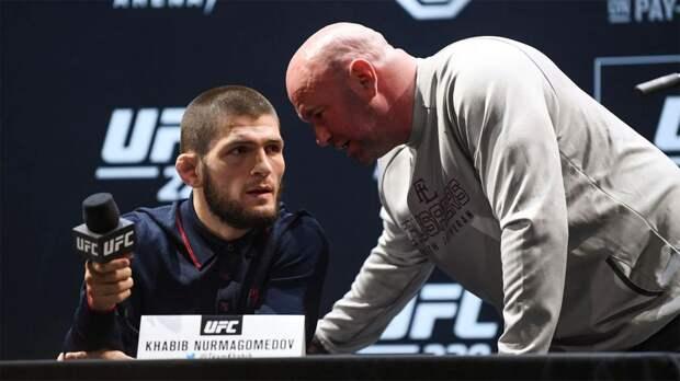 Глава UFC: «Если Хабиб не захочет возобновлять карьеру, я больше не буду его уговаривать»