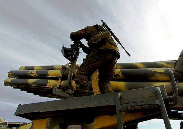 Артиллеристы ВВО готовятся к сдаче контрольной проверки за зимний период обучения в Бурятии