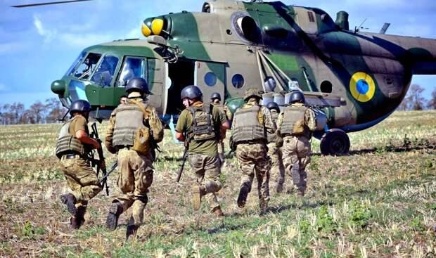 Киев хочет превратить Донбасс в полигон НАТО