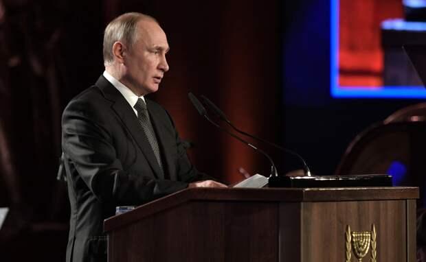 Путин потребовал лишения свободы для разрушителей памятников