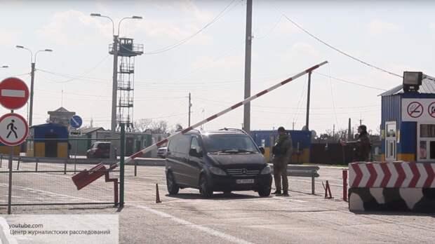 Пограничники Украины мучают людей на границе с Крымом, не пуская их на полуостров