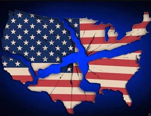 Раскол США очевиден республиканцам и демократам