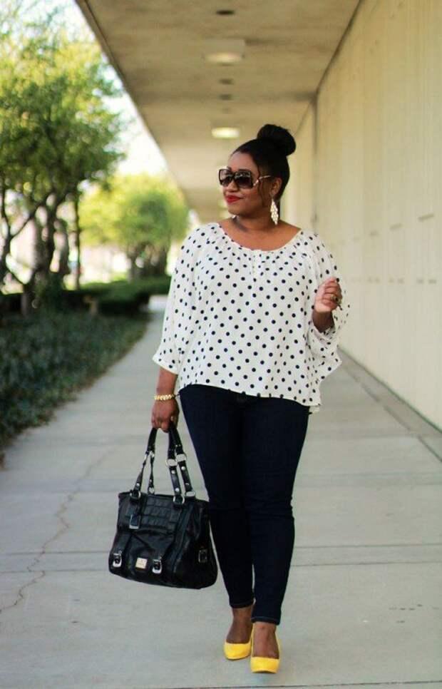 Модные тенденции для полных женщин за 50 лет