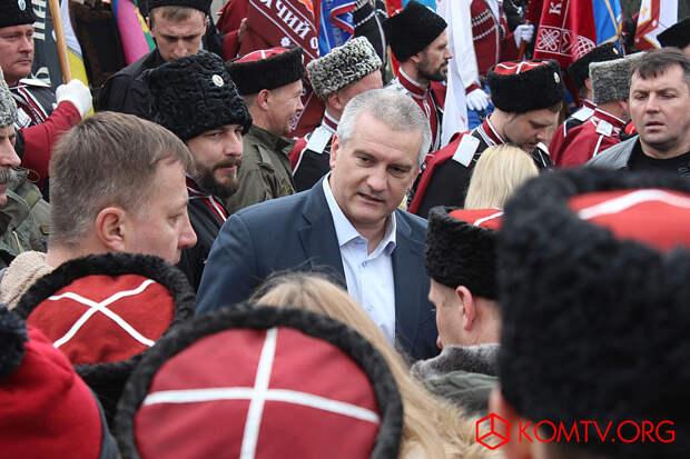 Общение с Главой Крыма Сергеем Аксеновым