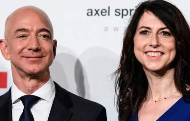 Стала известна причина развода основателя Amazon Джефф Безос