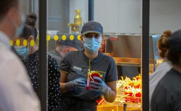 Зарплаты сотрудников «Макдоналдс» в США превысили доходы 97% россиян, НО...