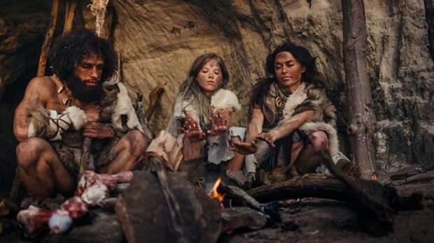 Семья эпохи неолита