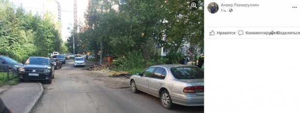 Строительный мусор на Дыбенко постараются убрать сегодня — «Жилищник»