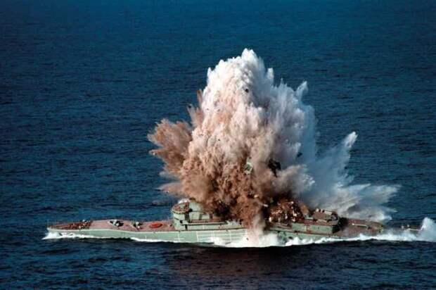 США: надо лишь чуть-чуть протаранить российские корабли и они потонут