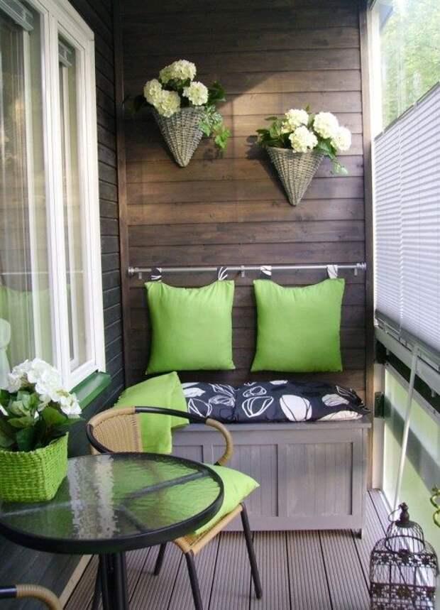Как преобразить балкон