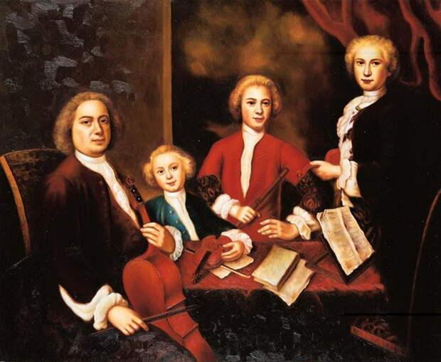 Иоганн Себастьян Бах: Как гениальный композитор стал отцом 20 детей