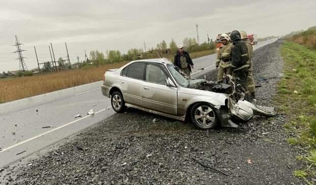 В Красноярском крае при аварии погибли пять человек