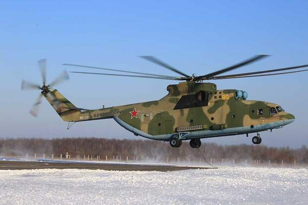 Перевозку Су-27 на внешней подвеске Ми-26 сняли на видео