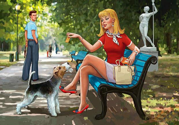 Это не Пин-ап : работы художника Петра Редькина