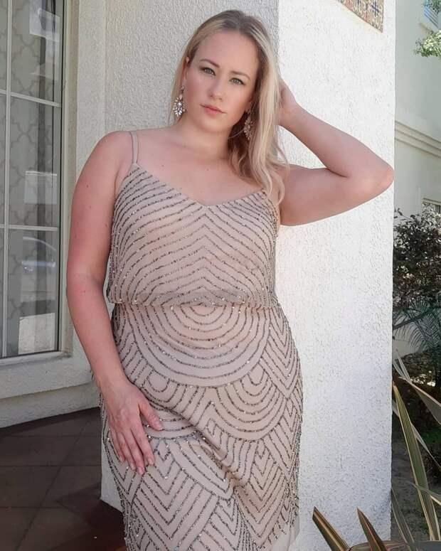 33-летняя американка постоянно меняется в весе, но больше всего любит себя в размере плюс-сайз
