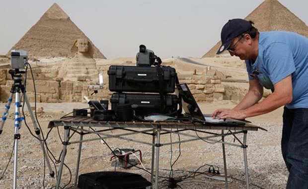 Невидимые ходы Пирамид: ученые заглянули в глубину камня