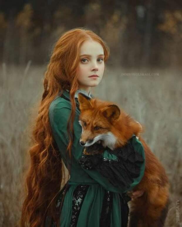 Волшебные фотографии Анастасии Добровольской