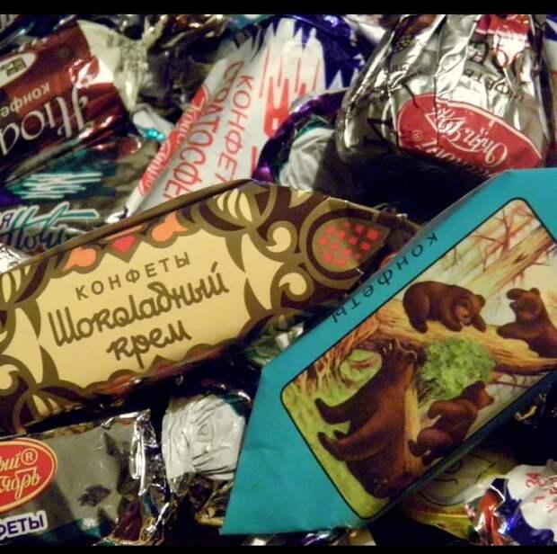 История советского шоколада