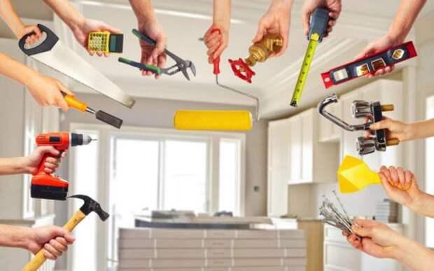 Как сделать дешевый ремонт своими руками и не пожалеть об этом