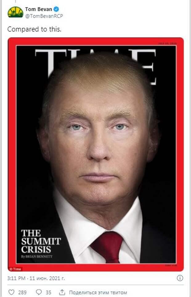 Комментарии американцев об обложке Time: симфония презренных (Fox News)