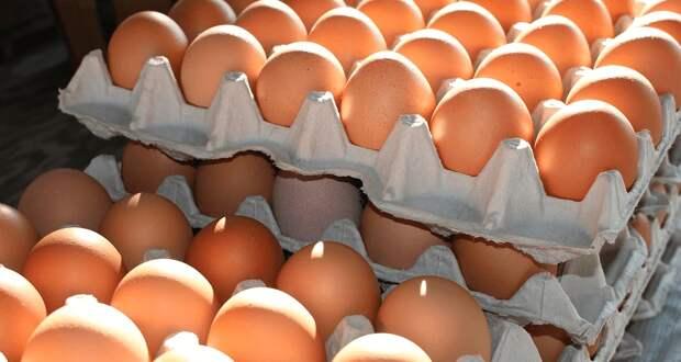 Предельно допустимые розничные цены на яйца временно установили в Алматы