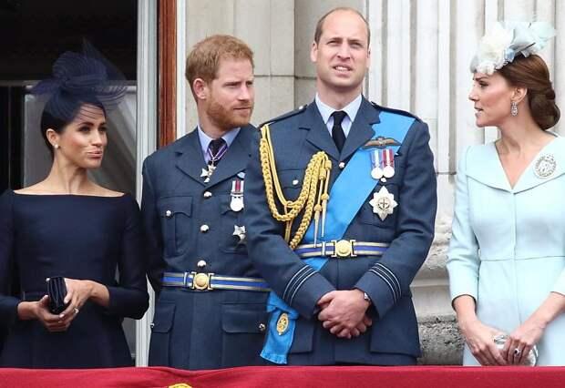 Принцы Уильям и Гарри отказались вместе произносить речь на церемонии открытия памятника принцессе Диане