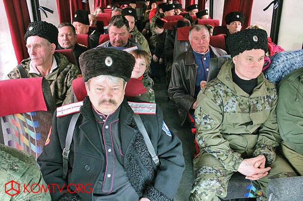 Феодосийские казаки отправились в стольный град Симферополь