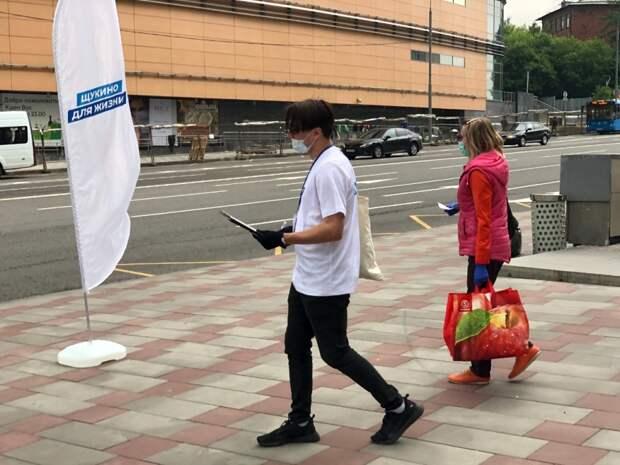 Общественное движение добилось установки пешеходных переходов у метро «Щукино»
